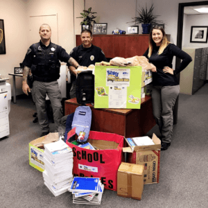Scappoose Police & Stuff the Bus